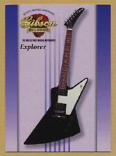 Explorer - Gibson guitar card series 1 # 33