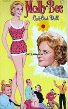 Vintage Uncut 1962 Molly Bee Paper Dolls~#1 Reproduction~Colorful/Pre tty