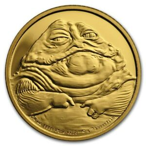 Niue - 2018 - 1/4 oz Gold Proof Coin - Star Wars Classic -  Jabba the Hutt