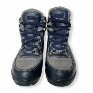 Vasque Skywalk Gore-Tex Mens Boots Gray Blue Leather Sz 10 - Tag Reads 8 MINT