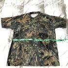 Pre-Owned Mossy Oak Camouflage Pattern Short Sleeve T-Shirt Pocket Size Medium M