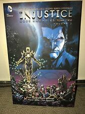 Injustice Gods Among Us: Year Two Vol 2 SIGNED WITH COA!!! Graphic Novel