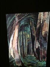 "Emily Carr ""Wood Interior"" Canadian Art 35mm Slide"