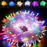 10M 100 LED Fairy string Light Lamp Christmas Wedding Xmas Party Decor Outdoor