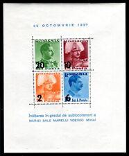 RUMÄNIEN 1937 BLOCK2 ** POSTFRISCH TADELLOS (09346