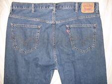 Levi's 505 Straight Fit Tagged 44/32 Actual Size 43 Tight X 31 Men's Jeans