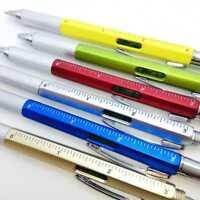 Erbauer-Werkzeug Kugelschreiber Mit Stylus, Schraubendreher, Wasserwaage