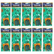 New 10 Doctor Who Gift Wrap Sets Birthday Tags Wrapping Paper TARDIS Official