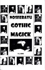 NOSFERATU GOTHIC MAGICK book spellbook vampire vampires