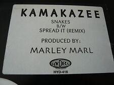 """KAMAKAZEE...SNAKES...HIP HOP INDY RAP 12"""" USA...MARLEY MARL"""