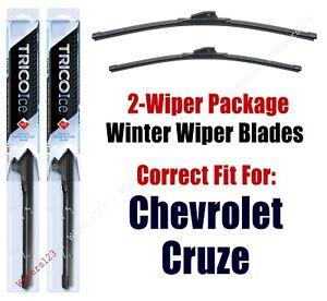 2011-2015 Chevrolet Chevy Cruze WINTER Wipers 2-Pk Super-Premium - 35240/35180