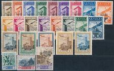 San Marino Governo Provvisorio + Flugpost drei Satzausgaben** (1958)