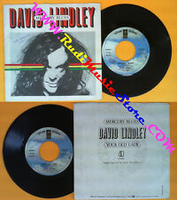 LP 45 7'' DAVID LINDLEY Mercury blues Your old lady 1981 italy no cd mc dvd (*)
