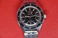 vintage military Soviet VOSTOK Wostok Amphibian Diver AntiMagnetic watch 2409a