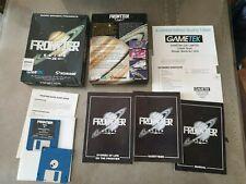 Frontier Elite II inc Poster complete  - Commodore Amiga Boxed