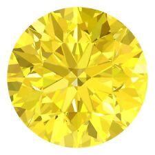 Fancy Yellow Loose Diamonds
