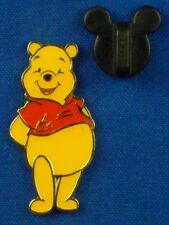 Winnie the Pooh Standing Tummy Out 100 Acre Collection on card Disney Pin # 1169
