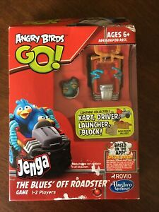 Angry Birds Go! Jenga The Blues' Off  Roadster Game 2013 Hasbro NEW IN BOX