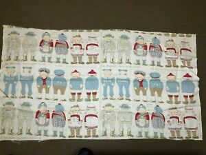 Palmer Cox Brownies Arnold Print Works antique doll cloth for 18 dolls!
