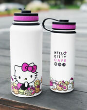 NIB Hello Kitty Cafe Exclusive Pink Stainless Thermal Bottle 36oz ONLY Rare 2018