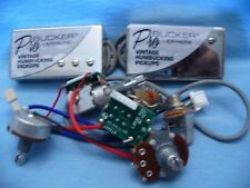EPIPHONE PROBUCKER ALNICO PUPS WITH PRO WIRING HARNESS POTS&SWITCH USA SHIPPING