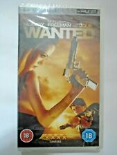 Wanted (NEW and SEALED) Sony PSP UMD Video Movie - Angelina Jolie, James McAvoy