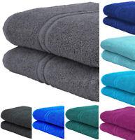 2x Extra Large Super Jumbo Bath Sheets 100% Prime Egyptian Cotton Luxury Towels