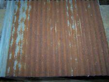 "10 pieces of Vintage Metal CORRUGATED TIN 26"" x 21"""
