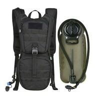 MARCHWAY Tactical Molle Hydration Pack Backpack with 3L TPU Water Bladder