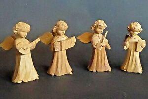 S3- Engelskapelle Holzengel musizierend Engel, Holz geschnitzt