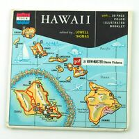 Vintage View-Master Reels Set Packet A120 HAWAII State Tour Series