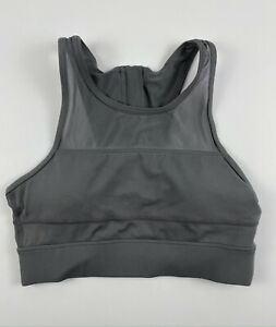 Zyia Active One More Rep Sports Bra Grey Size XS Xsmall