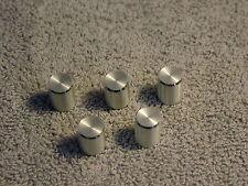 Small Aluminium Knob 1/8 square fitting. Quantity 8. FREE U.K Postage