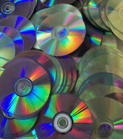 Lot of 700 MISC CDs Discs Only Bulk Wholesale Movie Music Random arts and crafts