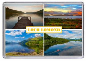 Loch Lomond Scotland Fridge Magnet 01