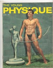 THE YOUNG PHYSIQUE bodybuilding muscle magazine BILLY HAWKINS 6-61