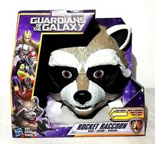 Marvel Guardians Of The Galaxy Rocket Raccoon Mask Movable Mouth New
