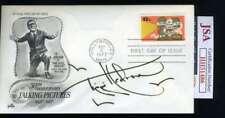 Tippi Hedren JSA Coa Signed 1977 FDC Cache Autograph