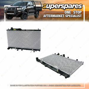 Superspares Radiator for Subaru XV G4X 2.0L Auto 01/2012 - 04/2017
