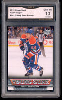 2013 Nail Yakupov Upper Deck Young Guns  rookie gem mint 10 #241