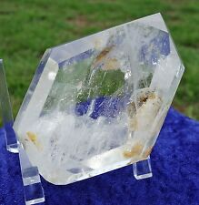 Clear Quartz Crystal Double Terminated Polished Freeform