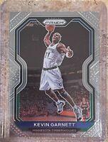 Kevin Garnett 2020-21 Panini Prizm Base #187 Minnesota Timberwolves Veteran Card