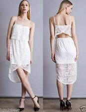 Polyester Casual Tiered Dresses for Women