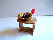 Playmobil,TABLE with SERVING BOWL,WINE GOBLET,DATES, Roman,Greecian,Egyptian