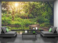 Sun Shining-Jungle Wall Mural Photo Wallpaper GIANT DECOR Paper Poster