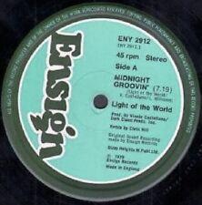"Light of the World-Minuit Groovin' / Emergency - 12"" Disco Jazz-Funk 1979"