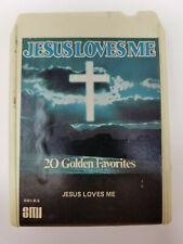 8 Track Tape Jesus Loves Me 20 Golden Favorites