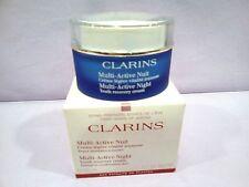CLARINS VISAGE MULTI ACTIVE NUIT CREME LEGERE PEAUX NORMALES A MIXTES 50 ML.