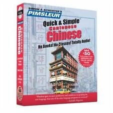 Quick and Simple: Chinese Cantonese 1 by Pimsleur  2001 CDs 4 discs