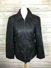 Women's Guess Leather Jacket - UK8 - Black - Great Condition